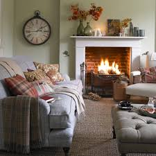 cosy living room designs on perfect country with open fire 1000