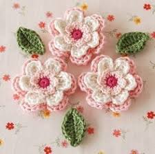Crochet Designs Flowers Pretty Flowers Crochet Designs Diagrams How To U0027s And Ideas