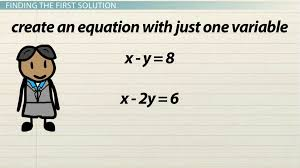 solving subtraction equations with two or more variables lesson transcript study com