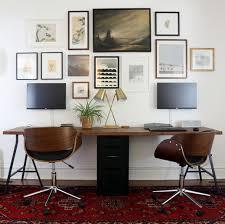 double desk office interior paint color schemes www