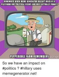 Political Meme Generator - remember when meme generator wasntused platform for political views