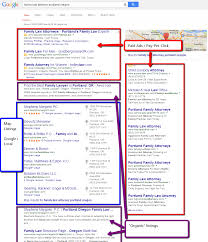 Google Map Portland Oregon by The Anatomy Of A Google Search Results Page Digital Marketing