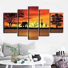 elephant wall canvas promotion shop for promotional elephant wall