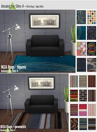 around the sims 4 ikea rugs u2022 sims 4 downloads