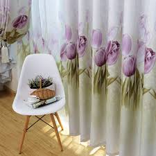 Thick Purple Curtains Yellow Purple Curtains For Living Room Gold Semi Blackout Window