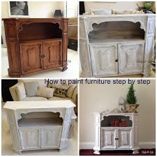How To Paint Furniture White by Amazing How To Paint A Bookcase White Designs And Colors Modern
