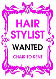 Rent A Chair Nuuhair Beautylounge On We Are Looking For A Hair Stylist