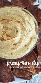 thanksgiving dinner appetizer recipes pumpkin pie dip with homemade baked cinnamon chips