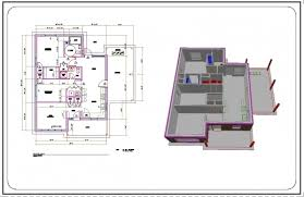 complete house plans fascinating autocad complete floor plan part 6 adding dimensions