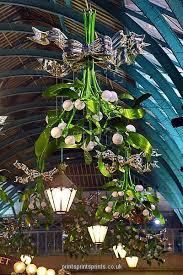 covent garden mistletoe decorations pf christmas pinterest