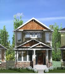 craftsman style home designs home design overlook house plans craftsman style and narrow lot