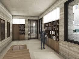 architektur bielefeld lebendige struktur besucherzentrum sparrenburg stfbeton