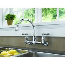 peerless choice p299305lf double handle wall mounted kitchen