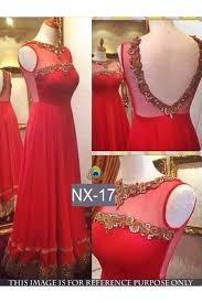 party wear gowns replica designer net party wear gown nx 17