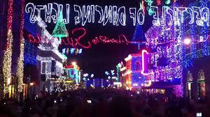 Main Street Lighting Walt Disney World Main Street Usa Christmas Lights Youtube