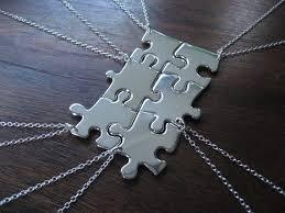 best friends puzzle necklace images 12 creative puzzle piece necklace designs guide patterns jpg