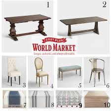 world market arcadia table 40 fab finds from world market crisp collective