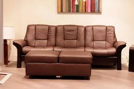 Low Back Leather Sofa Chocolate Leather Sofa Centerfieldbar Com