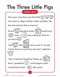 the 3 little pigs little pigs comprehension worksheets and the 3