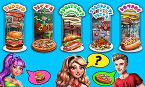 jeux de cuisine fast food cook n serve jeux de cuisine applications android sur play