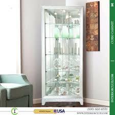 curio cabinet with light corner curio cabinet with light fooru me