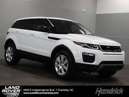 land rover evoque black and white new 2018 land rover range rover evoque for sale charlotte nc 18169