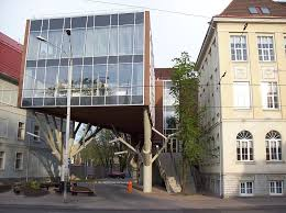 file tree house jpg office building tree house tallinn estonia architecture revived