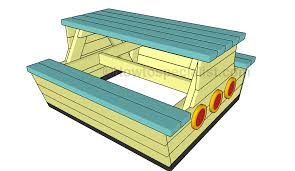 kids picnic table plans kids picnic table plans howtospecialist how to build step by