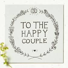 weeding card to the happy wedding card by wolf whistle