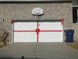 make your garage door a present at time ideas