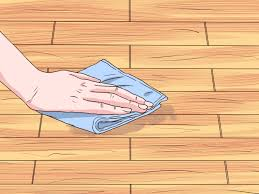 Water Got Under Laminate Flooring How To Clean Sticky Hardwood Floors 9 Steps With Pictures