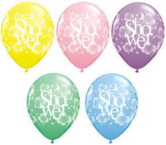 baby shower balloons bridal baby shower balloons