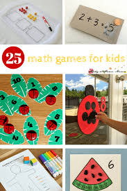 25 math games for kids sugar spice and glitter