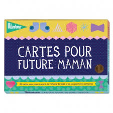 future maman set of cards pour future maman by milestone