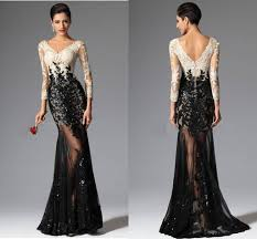 mermaid prom dresses pretty long evening gowns dhgate