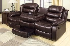 interior impressive spartan reclining sofa with drop down table