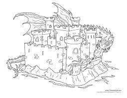 Castle Coloring Page 3 Tim S Printables Coloring Pages Castles