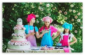 outdoor kids birthday party 4k hd desktop wallpaper for 4k