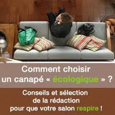 comment choisir canapé comment choisir canapé écologique canapé canapés