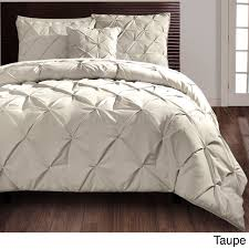 Eastern Accents Bedding Vcny Carmen Pintuck 4 Piece Comforter Set By Vcny Diamond Design