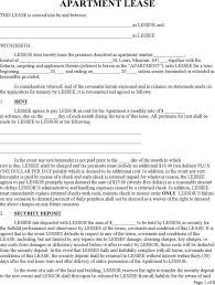 lease templates free free lease rental agreement forms ez