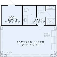 House Plans With Pools Pool House Floor Plans Tiny House