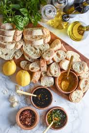 a bread oil appetizer dipping station the sweetest occasion