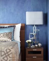unique table lamps spaces contemporary with blue bedroom stainless