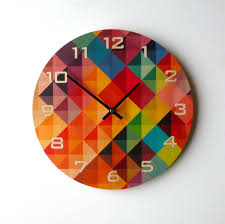 unusual wall clocks uk clock vitra wheel modern wall clock