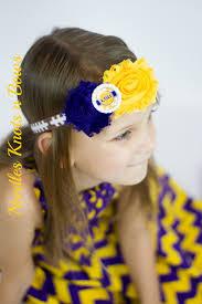 go girl headbands baby tots and women louisiana state