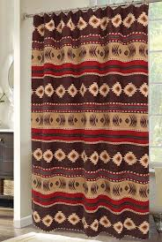 Best Fabric For Shower Curtain Interesting Southwest Style Shower Curtains And Curtain Mojave