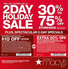 macys one day sale january 15 16 2017 http www olcatalog