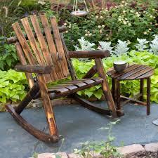 Rocking Chair Outdoor Furniture 20 Outdoor Wood Rocking Chair Nyfarms Info