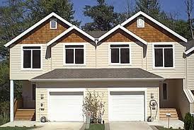 Duplex With Garage Plans Duplex House Plans With Garage House Plans Duplex Plans Row
